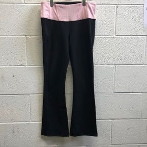 Lululemon black and pink pant, sz 8, 63604